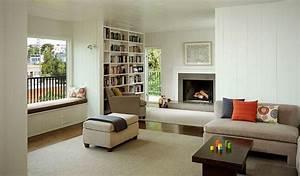 Aménagement D Un Salon : 10 salons am nag s autour de la chemin e moderne house ~ Zukunftsfamilie.com Idées de Décoration