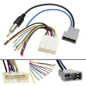 Car Dvd Radio Install Stereo Wire Harness Cable Plugs