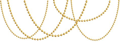 gold necklace for gold garland png clip image gallery
