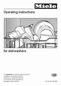 Miele G 349 Dishwasher Download Manual For Free Now