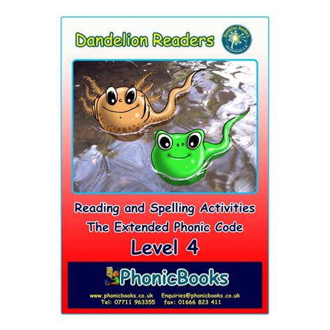 Dandelion Readers, Level 4 Reading & Spelling Activities  Phonic Books