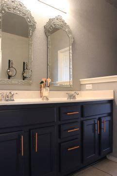 gray navy  copper bathroom copper bathroom beige