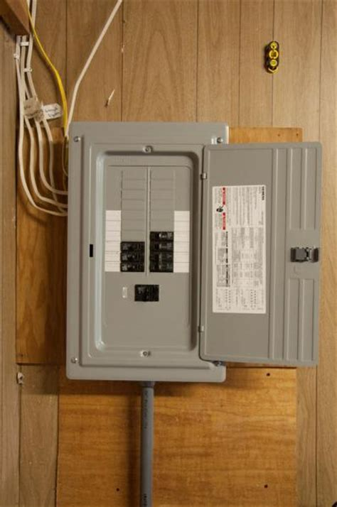 upgrading  panel  attached garage doityourselfcom