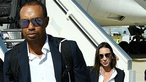 Tiger Woods Gets Kiss From Girlfriend Erica Herman After ...