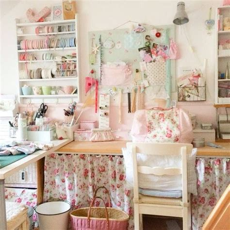 shabby chic sewing room ideas 1326 best art craft studios images on pinterest work spaces craft rooms and shop organization