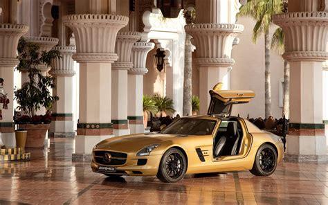 Mercedes Sls Amg Desert Gold 17
