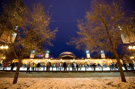 millennium park christmas lights the most romantic places to propose in chicago chicago