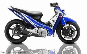 180  Modifikasi Motor Honda Supra X 2014