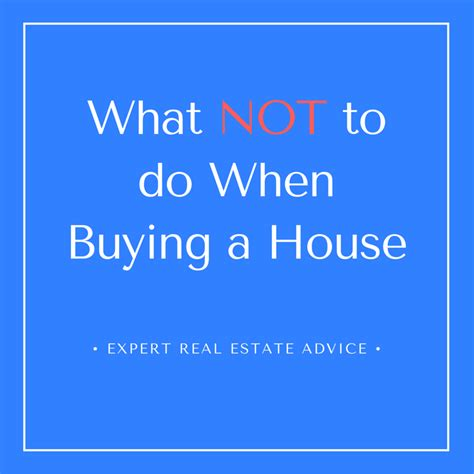 15 experts share what not to do when buying a house