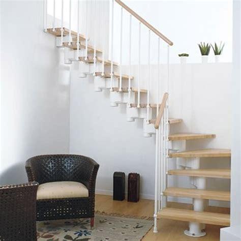 escalier modulaire structure m 233 tal marche bois