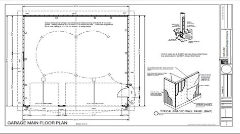 garage plans    detached garage  house