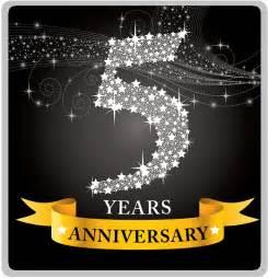 five year wedding anniversary happy 5th anniversary snazzywin snazzywin