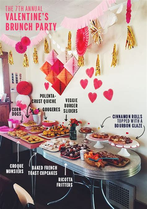 Valentine's Day Brunch Party