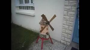 moulins a vent de decoration jardin youtube With moulin a vent decoration jardin
