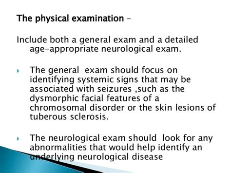 Woods L Examination Tuberous Sclerosis by 1st Seizure Ppt