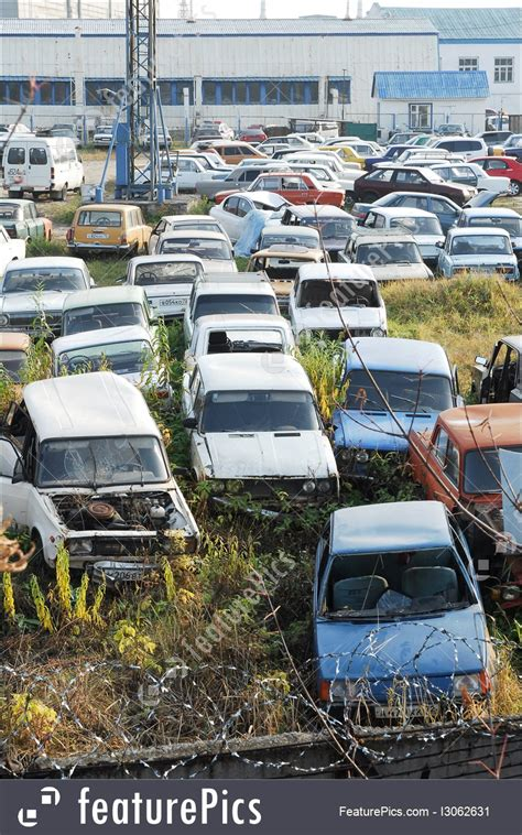 Car Dump Yard by Waste And Recycle Dump Of Cars Stock Photo I3062631