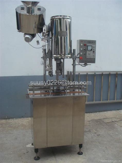 ropp capping machine  glass bottle aluminium ropp cap fxz huasheng china manufacturer