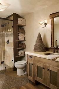 meubles salle de bain et decoration dans le style rustique With meuble de salle de bain rustique