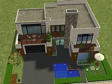 HD wallpapers maison moderne de luxe sims 3 wallpaper-santabanta ...