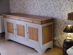 meubles louis philippe en merisier peints atelier de l With produit interieur brut meuble 0 relooker un meuble en merisier
