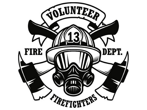 Free download fire svg icons for logos, websites and mobile apps, useable in sketch or adobe illustrator. Firefighter Logo 9 Firefighting Rescue Volunteer Axe Hydrant