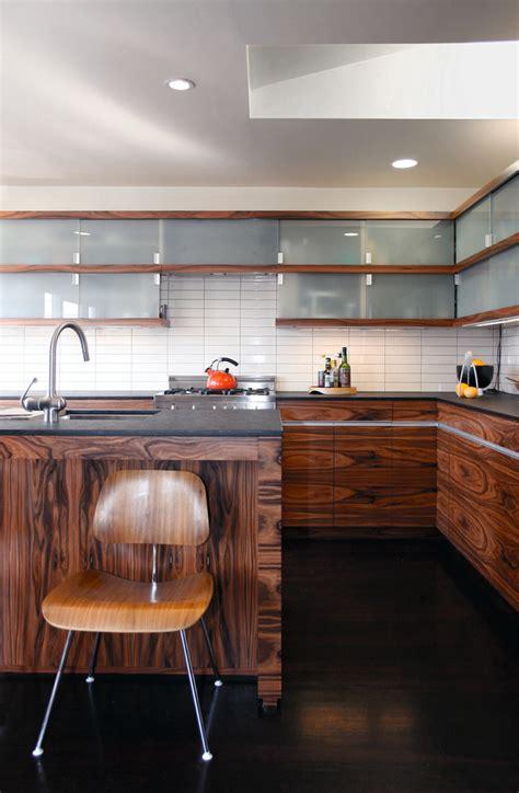 mid century modern kitchen backsplash white glass tile backsplash kitchen midcentury with 9162