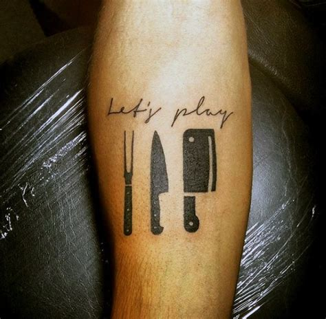 60 Culinary Tattoos For Men  Cooking Ink Ideas