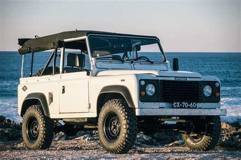 range rover defender 1990 auction block 1990 land rover defender 90 hiconsumption