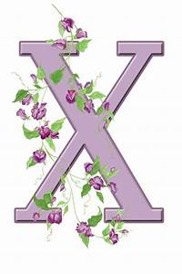 Letter X Floral Initial Free Stock Photo - Public Domain ...