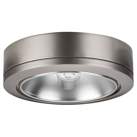 sea gull lighting ambiance 1 light brushed nickel low