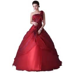 2015 grace karin one shoulder ball gowns dress for 15