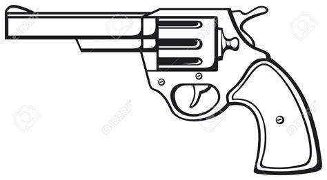 Pistol Clipart Gun Clipart Handgun Pencil And In Color Gun Clipart Handgun