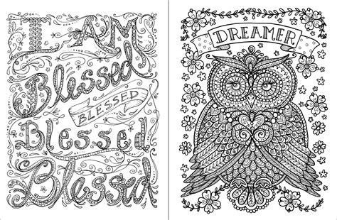 inspirational coloring pages    print