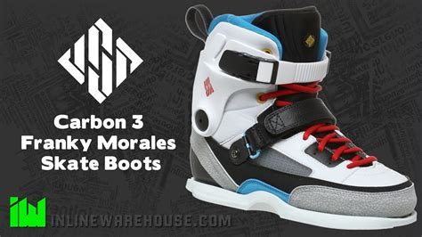 usd carbon  franky morales skate boots review youtube