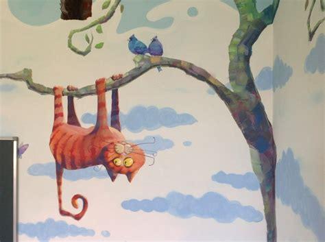 fresque chambre b fresque murale dans la chambre d enfant 35 dessins joviaux