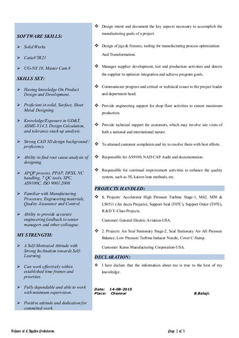 Analytical And Conceptual Skills Resume by Resume