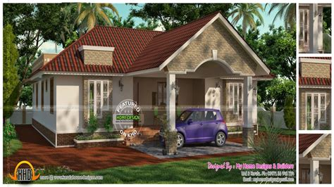 veedu single floor kerala single floor  bedroom house home design  floor treesranchcom