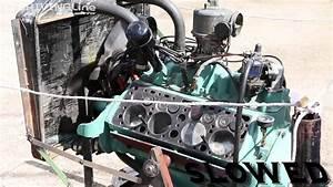 Look Inside Flathead V8 Engine While Running