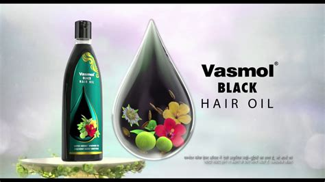 Vasmol Black Hair Oil