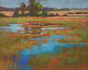 from the easel of barbara jaenicke creating a pastel