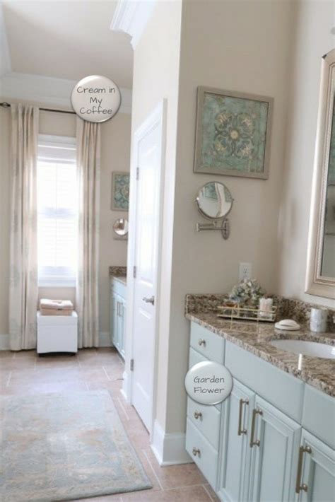 summer home   paint colors bathroom