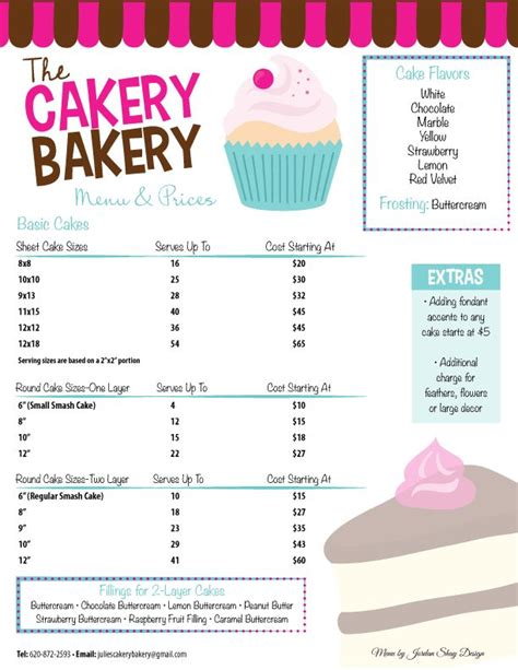 1000 ideas about bakery names on bakeries bakery menu search pinteres