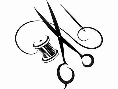 Sewing Clipart Tailor Fabric Cutting Svg Needle