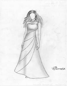 Easy Dresses To Draw | Joy Studio Design Gallery - Best Design