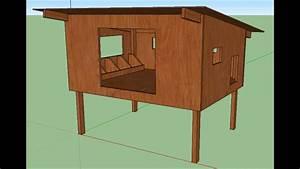 Comment Construire Un Poulailler Avec Plan Dimensionn