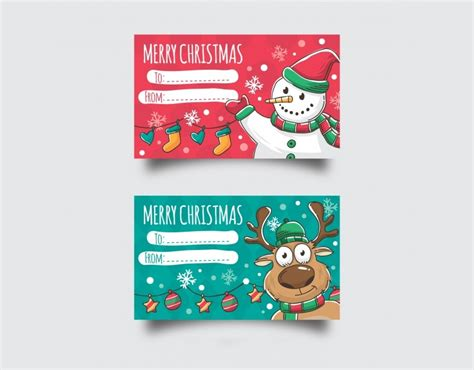 christmas cards examples  psd word
