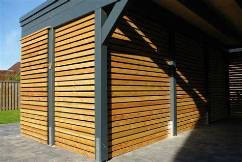 Carport Mit Holz Verkleiden by Flachdachcarport Aus Holz Konfigurieren Und Bestellen