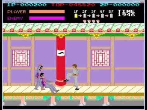 Gamis Spanduk Kutung kung fu master the original 80 s arcade