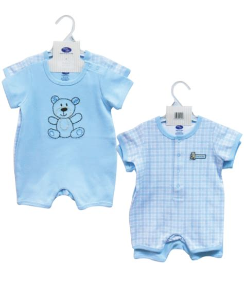 baby safe and food warmer romper blue baby safe