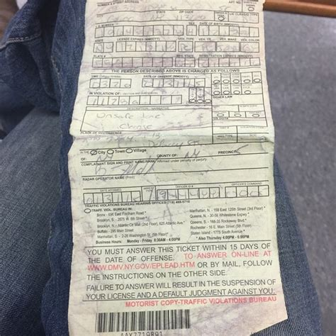 bureau citation york state dmv traffic violations bureau financial